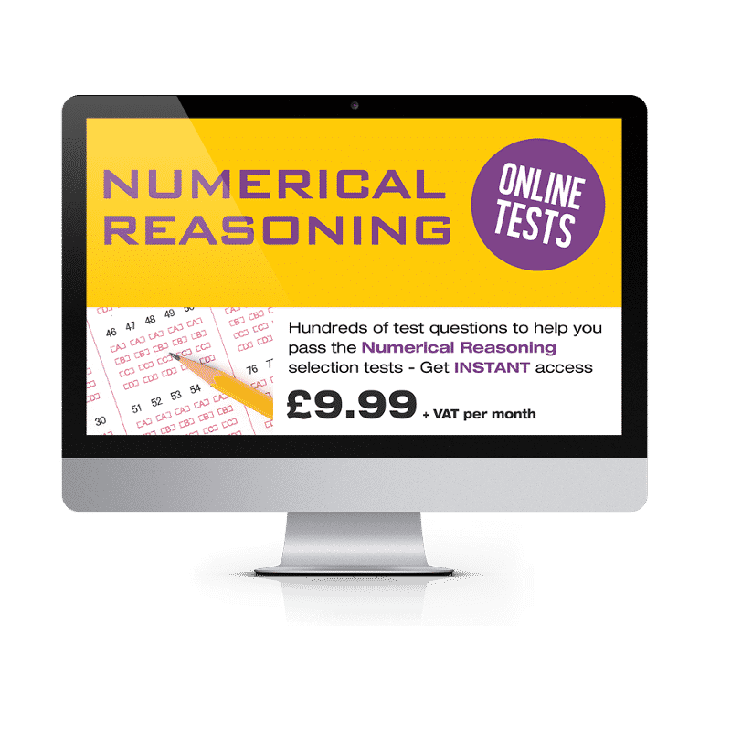 Online Numerical Reasoning Testing Suite