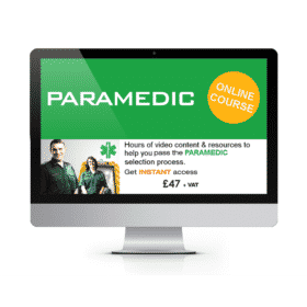 Online Paramedic Recruitment Training Course - Ultimate Online Resource (UNLIMITED ACCESS)