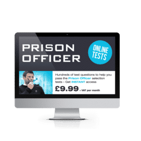 Online Prison Officer Testing Suite