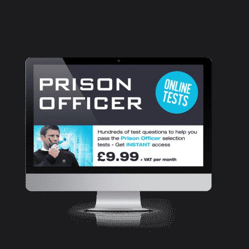 Online Prison Officer Testing Suite