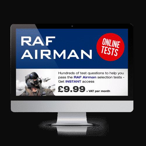 Online RAF Airman Testing Suite