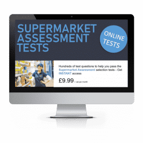 Online Supermarket Assessment Tests How2Become