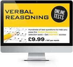 Online Verbal Reasoning Practice Tests