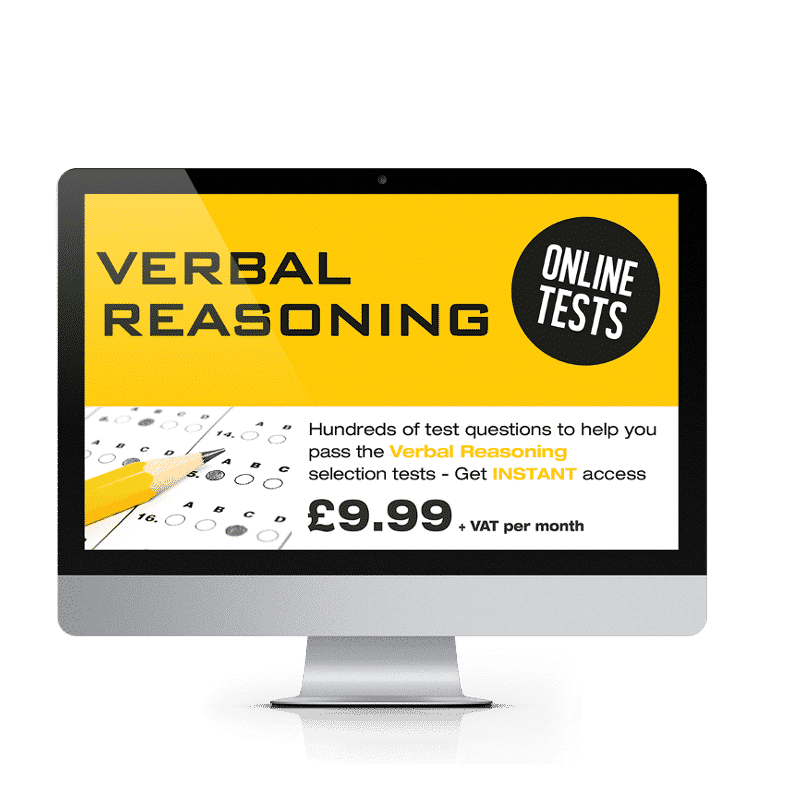 Online Verbal Reasoning Testing Suite