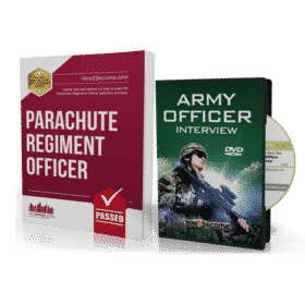 Parachute Regiment Officer Workbook + Interview DVD