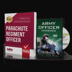 Parachute Regiment Officer Workbook + Interview DVD