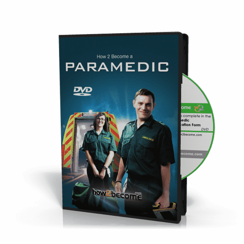 Paramedic Application Form DVD