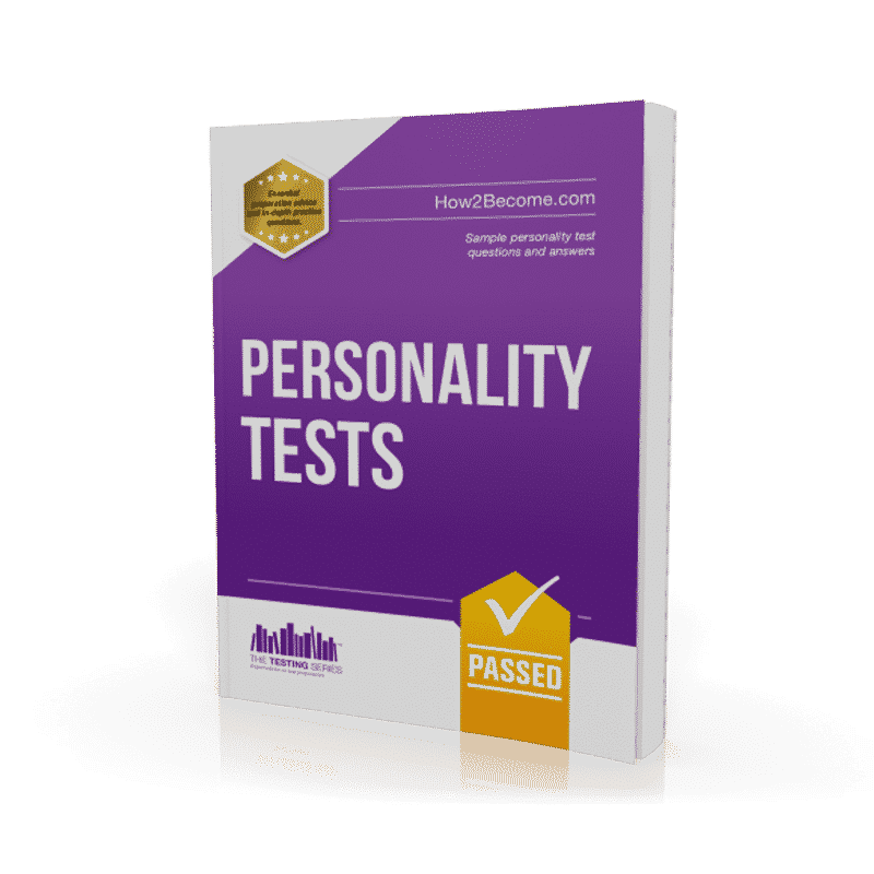 Personality Tests Workbook