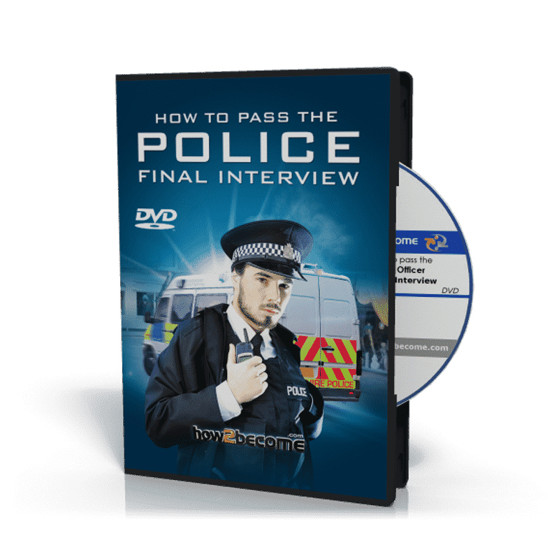 Police Officer FINAL Interview DVD