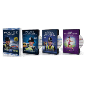 Police Officer Silver Package (Police Guide + 2 DVDs and 1 CD)