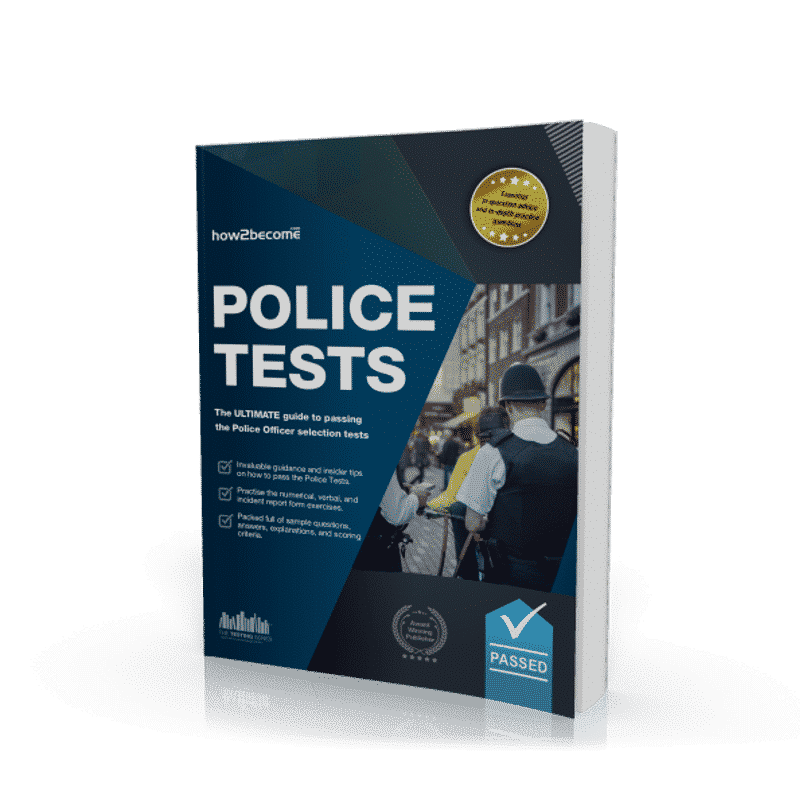 Police Tests UK | Pass Police Recruitment Test & Exam