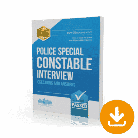 police special constable interview questions and answers workbook immediate download