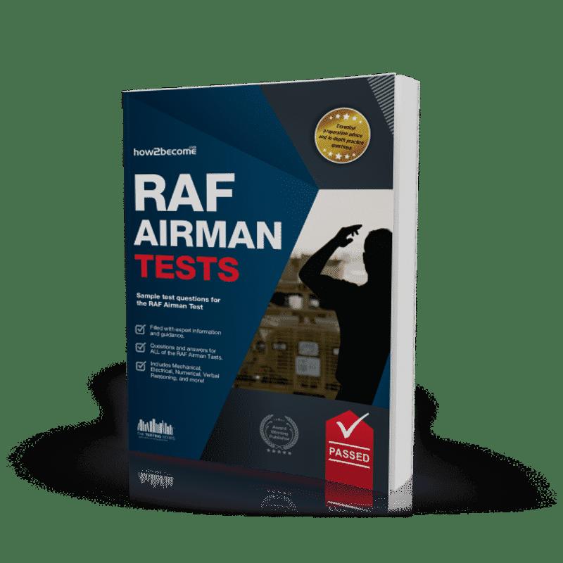 RAF Airman Tests Book