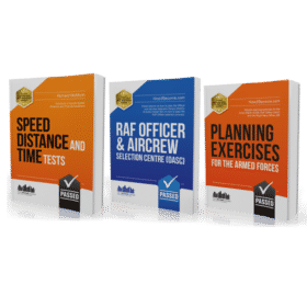 RAF Officer OASC workbook, Speed Distance & Time and Planning Exercises