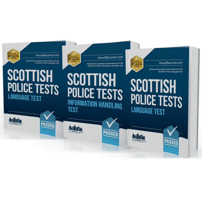 Scottish Police Practice Tests - Multi Pack