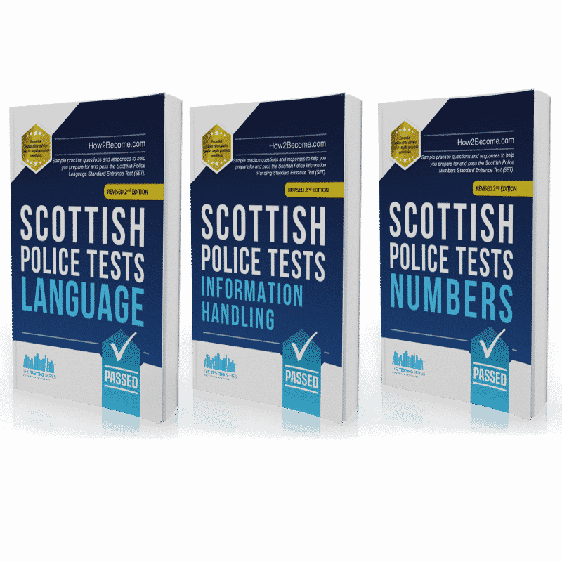 Scottish Police Practice Tests - Pack
