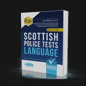 Scottish Police Tests Language Workbook