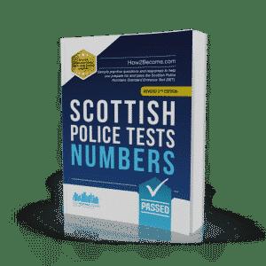 Scottish Police Tests Numbers Workbook