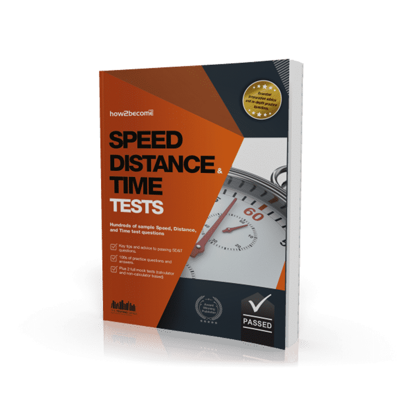 Speed, Distance, and Time Tests Workbook