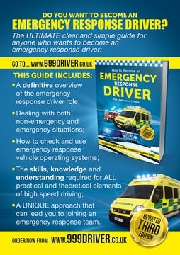 Steps to becoming an emergency response driver