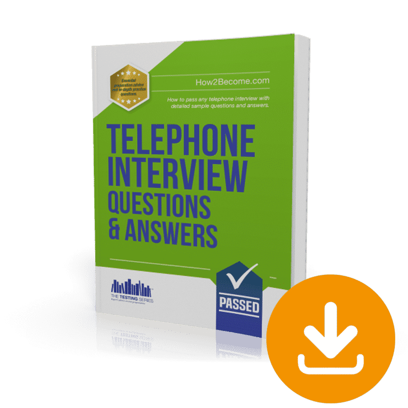 how to answer telephone interview questions