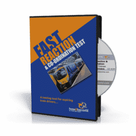 The Train Driver Fast Reaction & Coordination Testing tool CD