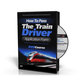 Train Driver Application Form DVD
