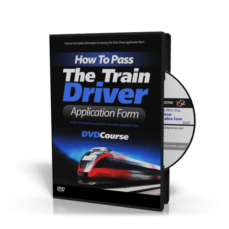 Train Driver Application Form DVD