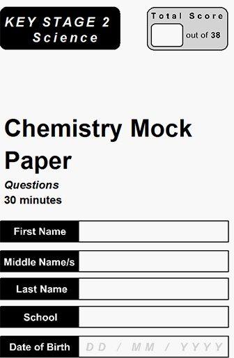 chemistry mock paper