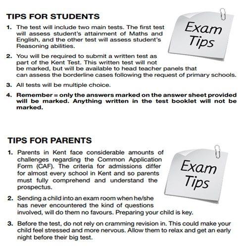 Grammar school test papers online
