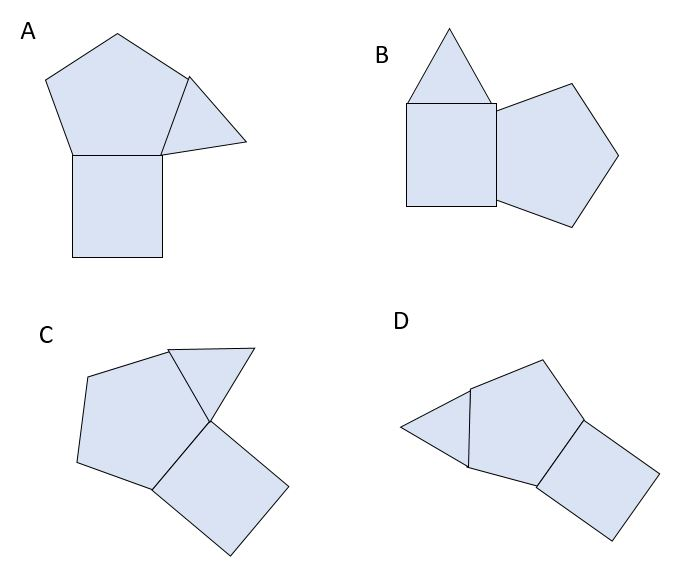 spatial reasoning answer options