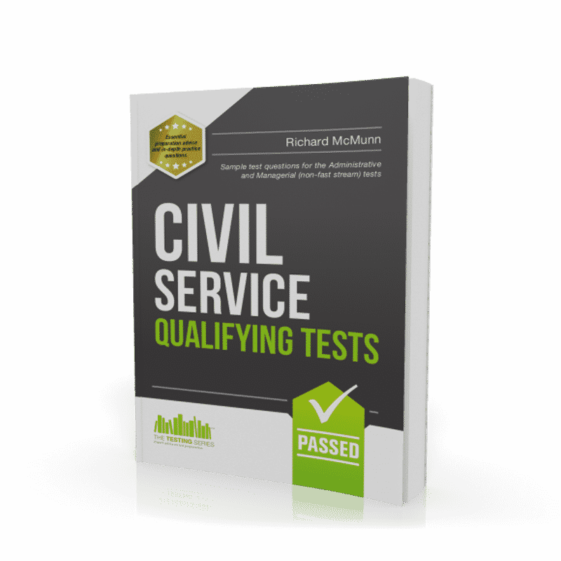 Civil Service Qualifying Tests Workbook