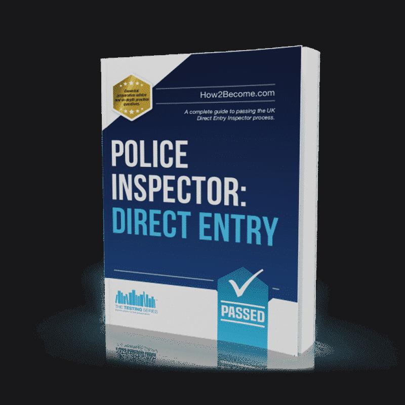 Police Inspector Direct Entry Workbook