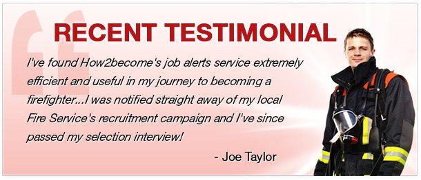 firefighter testimonial