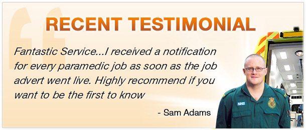 paramedic testimonial