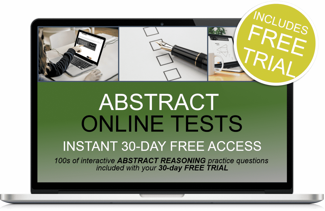 Free Online Interactive Abstract Reasoning Practice Tests