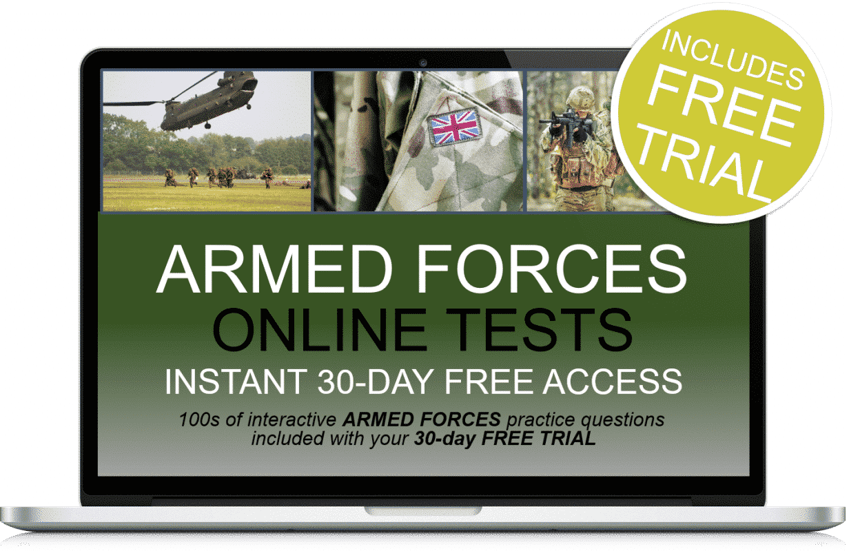 Free Online Interactive Armed Forces Practice Tests