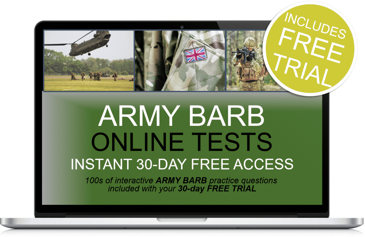 Free Online Interactive Army Barb Practice Tests