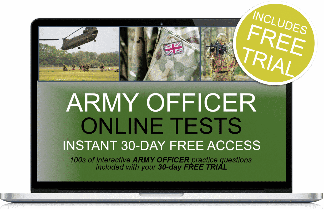 Free Online Interactive Army Officer Practice Tests