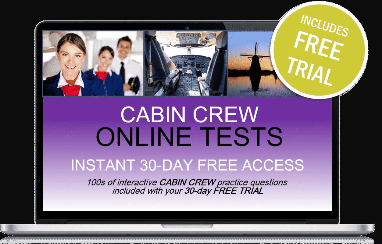 Free Online Interactive Cabin Crew Practice Tests