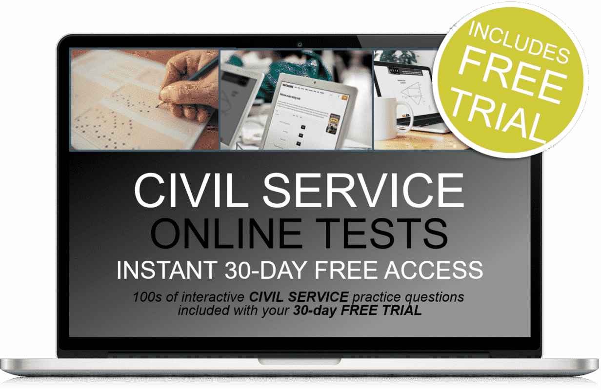 Free Online Interactive Civil Service Practice Tests