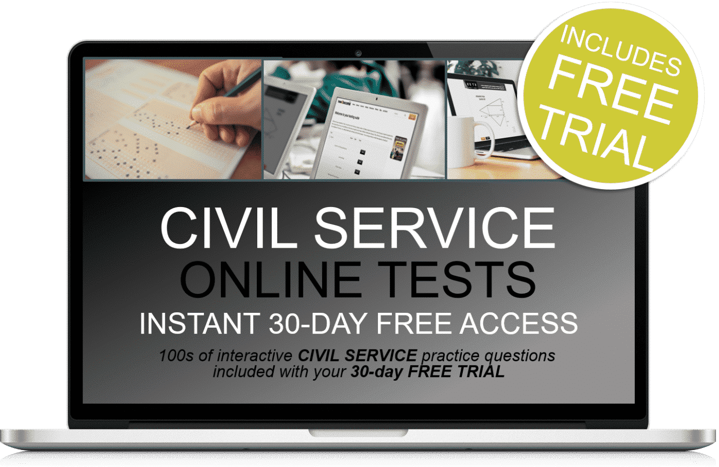 Free Online Interactive Civil Service Practice Tests - How 2
