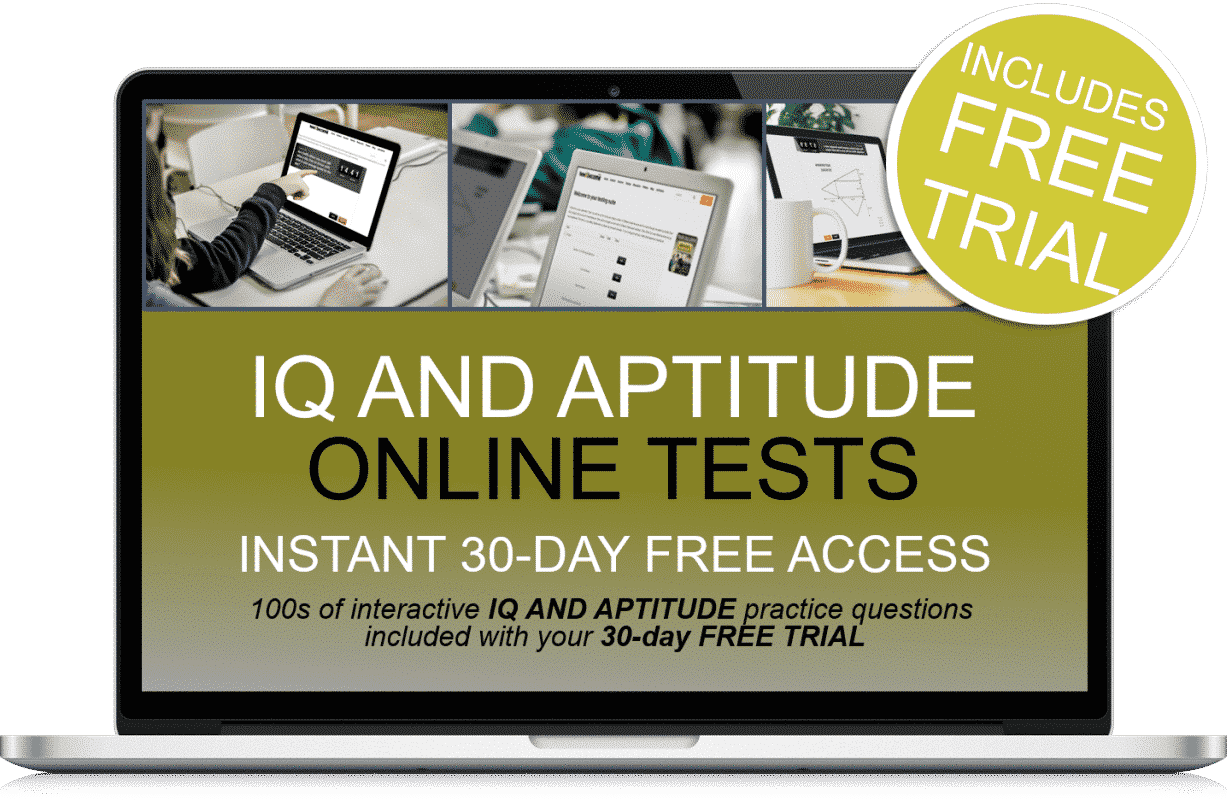 Free Online Interactive IQ and Aptitude Practice Tests