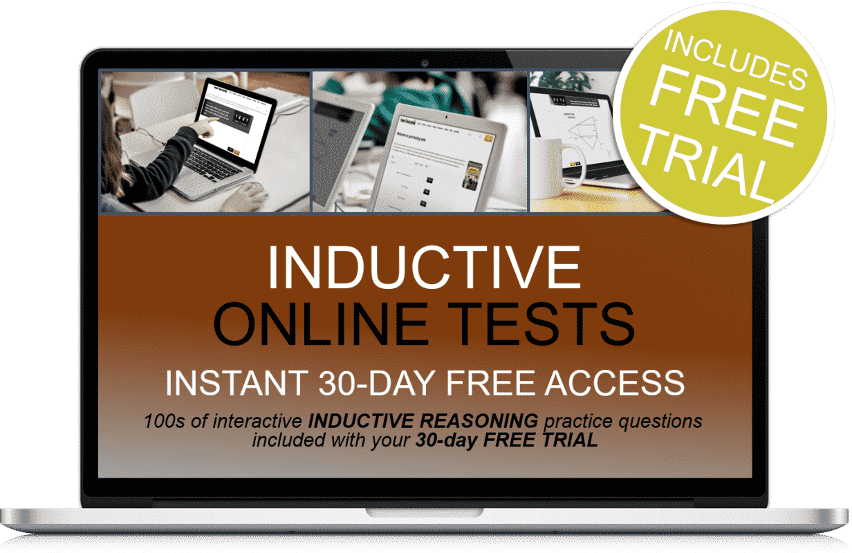 Free Online Interactive Inductive Reasoning Practice Tests