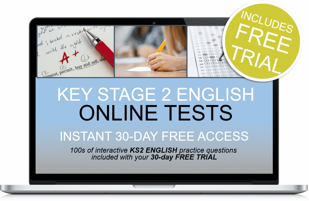 Free Online Interactive Key Stage 2 English Practice Tests