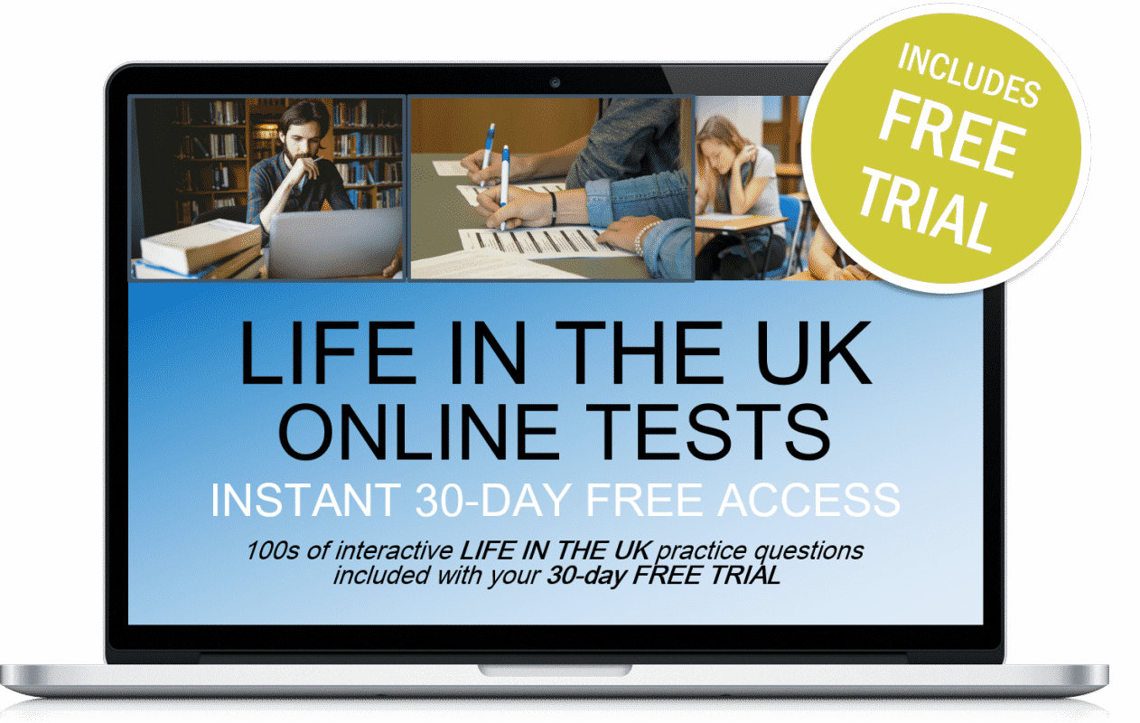 Free Online Interactive Life in the UK Practice Tests