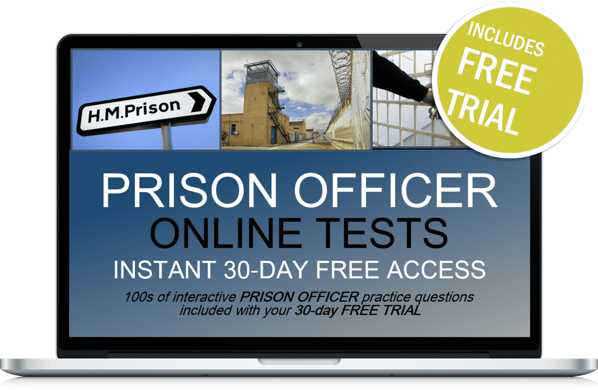 Free Online Interactive Prison Officer Practice Tests