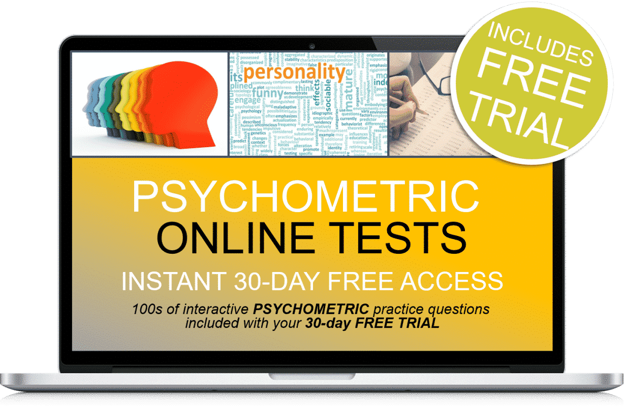 Free Online Interactive Psychometric Practice Tests