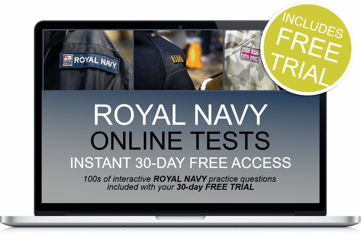 Free Online Interactive Royal Navy Practice Tests