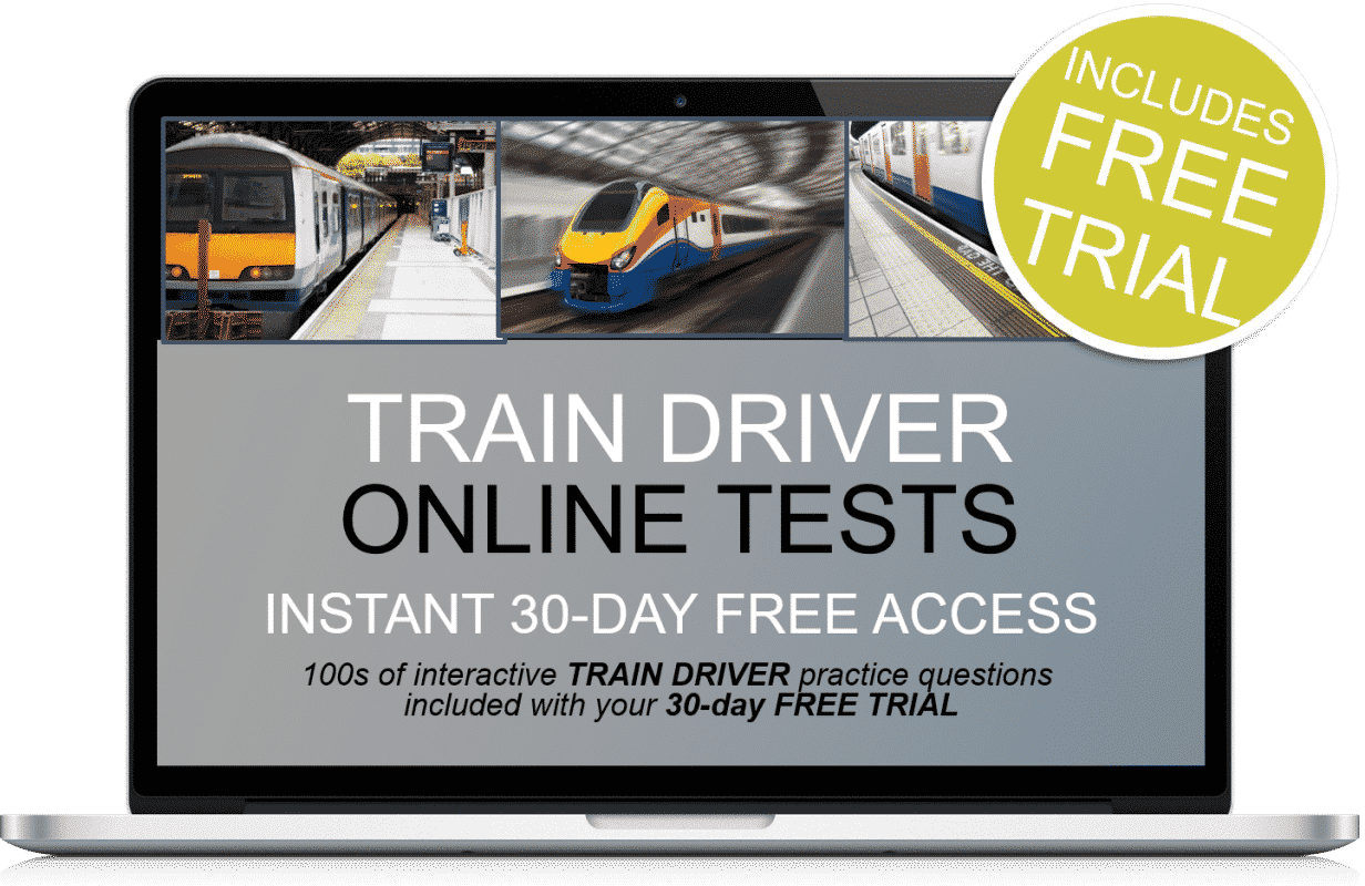 Free Online Interactive Train Driver Practice Tests